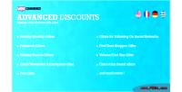 Advanced woocommerce discounts