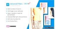 Advanced woocommerce filters