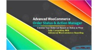 Advanced woocommerce order status action manager colorize filtering lis order on