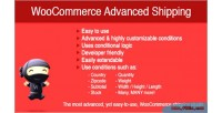 Advanced woocommerce shipping
