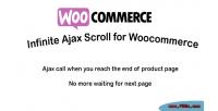 Ajax infinite scroll woocommerce