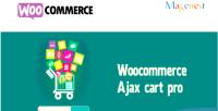 Ajax woocommerce cart pro