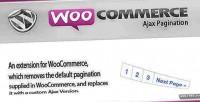 Ajax woocommerce pagination