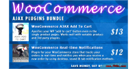 Ajax woocommerce plugins bundle
