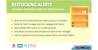 Alerts restocking for woocommerce