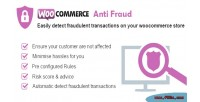 Anti woocommerce fraud