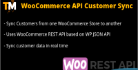 Api woocommerce customer sync