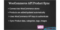Api woocommerce product synchronization