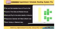 Appointment woocommerce system booking schedule