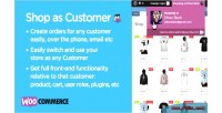 As shop woocommerce for customer