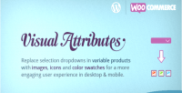 Attributes visual products variable woocommerce