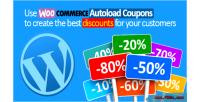 Autoload woocommerce coupons