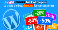 Autoload woocommerce coupons