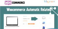 Automatic woocomerce related products
