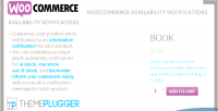 Availability woocommerce notifications