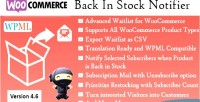 Back in stock notifier pro waitlist woocommerce