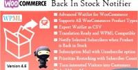 Back in stock notifier pro waitlist woocommerce