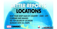 Better woocommerce reports locations