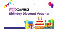 Birthday woocommerce discount vouchers