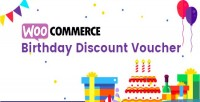 Birthday woocommerce discount vouchers