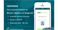 Bitcoin coincheckout dogecoin litecoin
