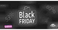 Black woocommerce facebook wordpress friday