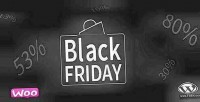 Black woocommerce facebook wordpress friday