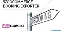 Bookings woocommerce exporter