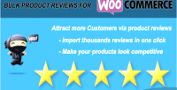 Bulk woo import reviews product