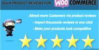 Bulk woo import reviews product