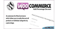 Bulk woocommerce percentage discount