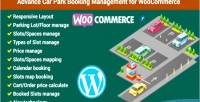 Car advance park woocommerce for management