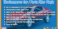 Car woocommerce plugin filter parts