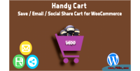Cart save email share woocommerce for cart cart