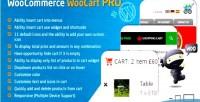 Cart woocommerce woocart pro