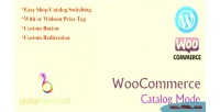 Catalog woocommerce mode