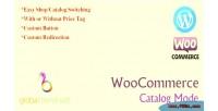 Catalog woocommerce mode