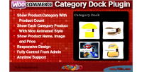 Category woocommerce dock plugin