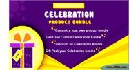 Celebration woocommerce product bundle