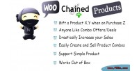 Chained woocommerce products