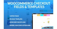Checkout woocommerce fields templates