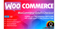 Checkout woocommerce upsells