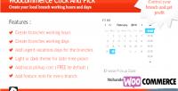 Click woocommerce & pick