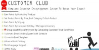 Club customer advanced system point woocommerce