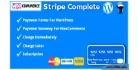 Complete stripe for woocommerce & wordpress