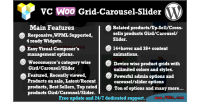 Composer visual woocommerce slider carousel grid