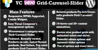 Composer visual woocommerce slider carousel grid