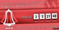 Countdown product wordpress plugin
