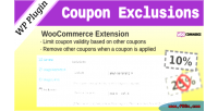 Coupon woocommerce exclusions