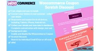 Coupon woocommerce scratch discount